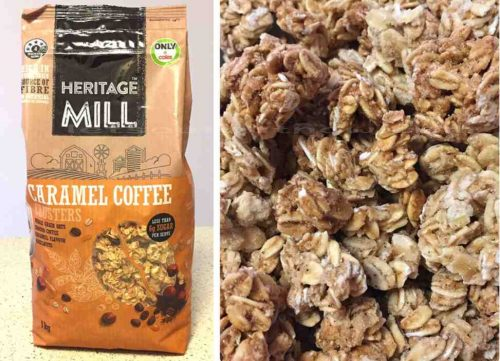 Cereal 'HERITAGE MILL' New Flavour Caramel Coffee